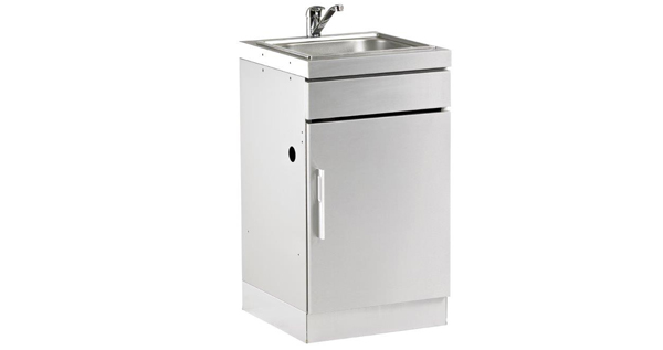 BD77010-Stainelss-Steel-Cab-with-Sink-Handle-on-Left