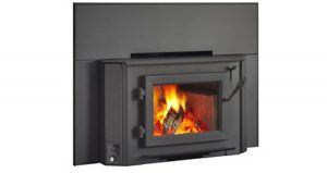 Wins 18 In-built wood heater
