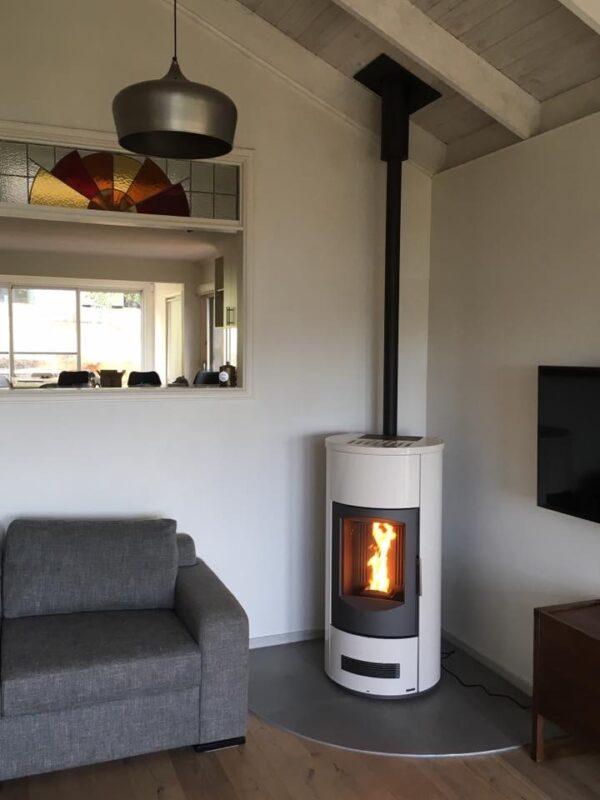 P158T Pellet Heaters (White colour)